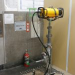 某所エレベーター設備改修工事・X線探査をしました。