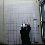 都内排水処理場にて電磁波レーダ探査に行ってきました/中央区