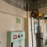 西那須野市、社員寮の改修工事にてX線探査(鉄筋探査)を実施ました。