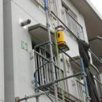 神奈川県営住宅にてX線探査・レーダ探査をしてきました。