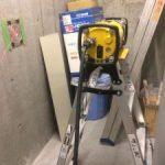 某倉庫内改修工事X線探査及びコアボーリング