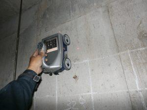 電磁波レーダ(電磁波レーダー)による鉄筋・配管の探査