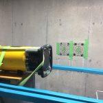 江東区青海のM倉庫にてX線探査及びダイヤモンドコア穿孔工事をしてきました。