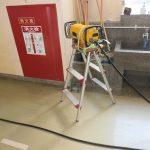 練馬区の学校にてX線探査及び電磁波レーダー探査をして来ました。