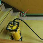 柏市某役所にてスリット工事の為のX線探査をしてきました。