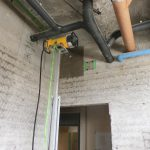 さいたま市にて学校の改修工事でx線探査・電磁波レーダ・ダイヤモンドコアしてきました