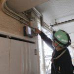 蒲田駅周辺にて電磁波レーダー探査及びダイヤモンドコア工事をしてきました。