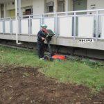 立川市にて地中探査をしてきました、昇降機設置前の地中探査です。
