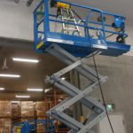 台場付近の倉庫にてレーダ探査・X線探査・ダイヤモンドコア穿孔工事をしてきました。