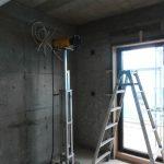 川崎にてX線探査をしてきました。個人宅リフォーム工事にてRCの建物でした。