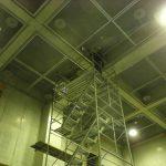久喜市内の公共施設にて電磁波レーダ探査をしてきました。
