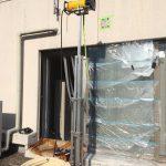 栃木県の某飲料工場にてX線探査をしてきました。