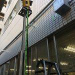 千葉県成田市の某病院にてX線探査とダイヤモンドコア穿孔工事をしてきました。
