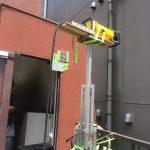 飯田橋にてX線探査(非破壊検査)をしてきました。