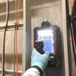 東京都の警察署にて X線探査、ダイヤモンドコア穿孔 電磁波レーダ探査