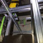 都内の複合施設にてX線探査(レントゲン探査)とダイヤモンドコア穿孔工事をしてきました。