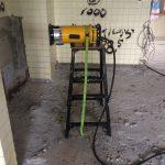 鴻巣市内の小学校にてX線探査(レントゲン探査)をしてきました。