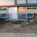埼玉県内の公共施設にてアンカー打設工事をしてきました。