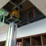 埼玉県内の公共施設にてX線探査をしてきました。