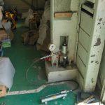 日野市の大きいな工場にてあと施工アンカー打設と引張試験をしてきました。