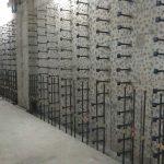 埼玉県内の排水処理場にてアンカー打設工事をしてきました。