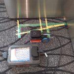 某空港にて電磁波レーダ探査をしてきました。
