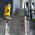 埼玉県内の集合住宅にてX線探査をしてきました。