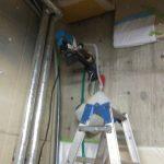 東京都内の宿泊施設にてX線探査をしてきました。