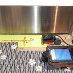 関東近郊の航空施設にて電磁波レーダ探査をしてきました。