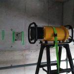埼玉県内の排水処理施設にてX線探査をしてきました。