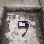埼玉県内の水再生センターにて電磁波レーダ探査をしてきました。