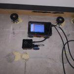 都内の商業ビルにて電磁波レーダをしてきました。