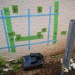東京都内の公共住宅にて電磁波レーダ探査をしてきました。